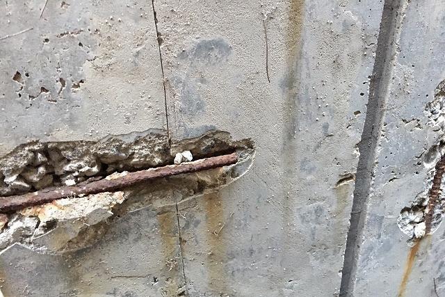 コンクリート爆裂
